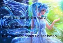 हर्फ़ दर हर्फ़ ज़हन को कागजों में उरेख रखा है urdu shayari in hindi,