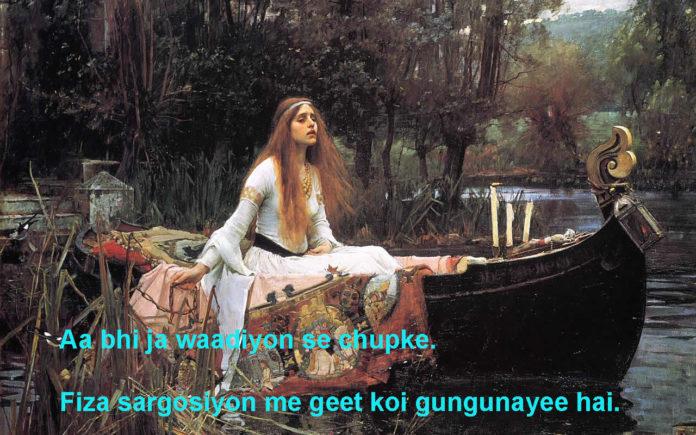 दिल के हवाले से सदा आती है quotes life hindi ,