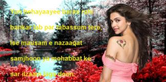 जिस मुहाने से रोज़ तकते हो dard shayari,