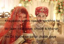 आज फिर दो कुंभकरणों का मेल हुआ romantic shayari ,