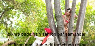 लबों में तिश्नगी दिलों में दीदार ए यार की फ़िक़्र good morning shayari,