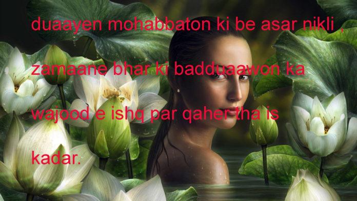 सियासत है गर खून की प्यासी तो फिर ये प्यास बढ़ने दो romantic shayari ,