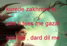 तारीफ़ ए हुश्न किसको मंज़ूर नहीं होती love shayari,