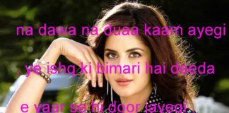 whats app status in hindi नुमाईश में बिठा रखे थे कुछ बूतनुमा अजीज़ ,