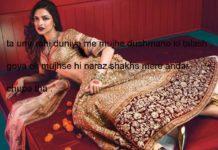 शब् ए महताब हसरतें दिल की निकल रही हैं बारी बारी shayari in hindi,