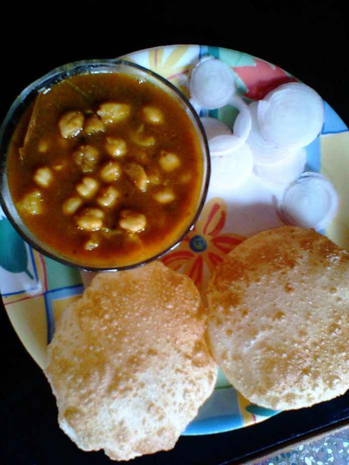 छोला भटूरा बनाने की विधि indian recipes ,