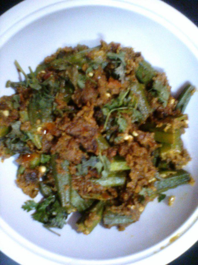 masala bhindi recipe in hindi,