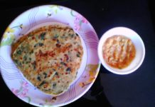 methi ka paratha recipe in hindi,