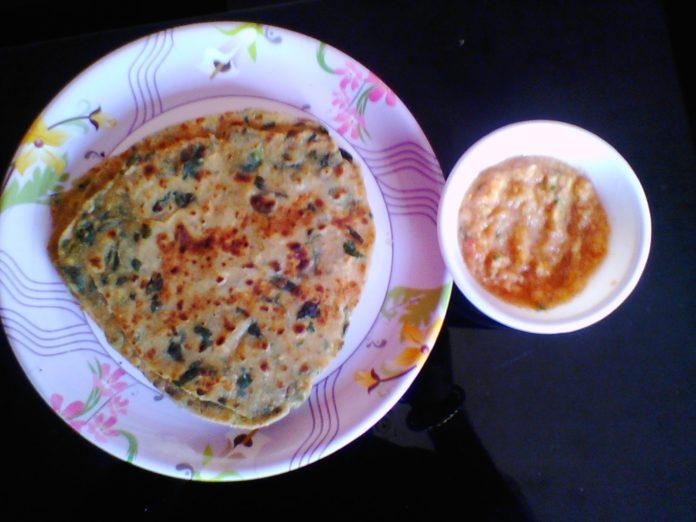 methi ka paratha recipe in hindi,
