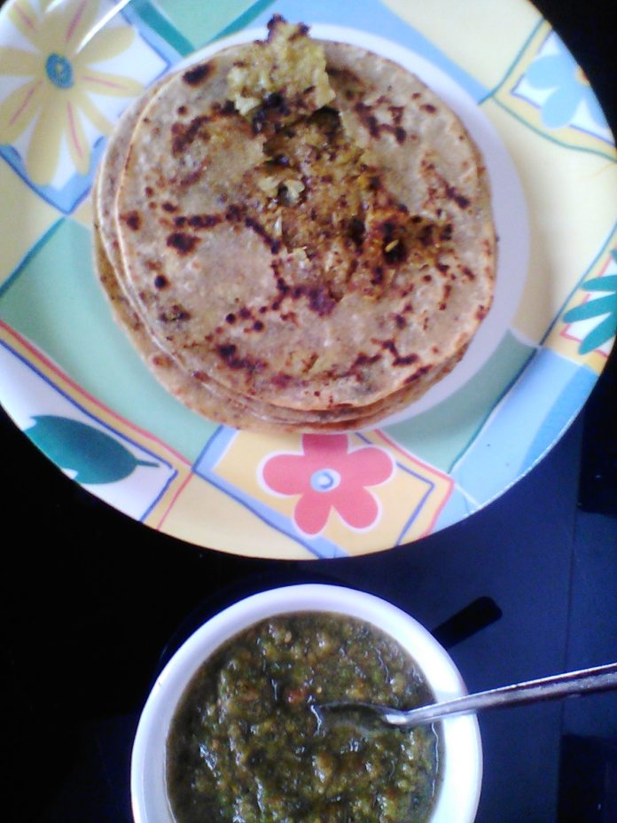 Cauliflower Paratha - gobi Paratha winter food in india,