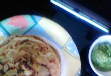 aloo paratha in hindi,