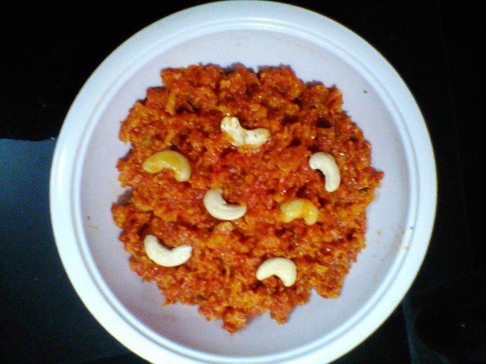 healthy tasty recipes carrot halwa gajar ka halwa ,