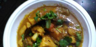 cauliflower masala curry vegan recipes,