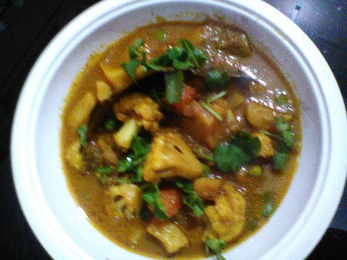 cauliflower masala curry vegan recipes,