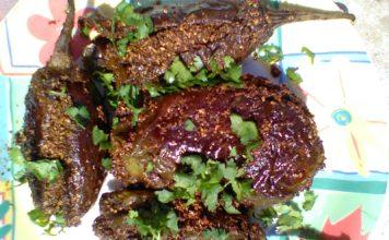 baigan ki kalonji indian recipe in hindi,