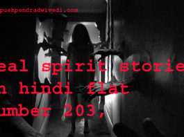 real spirit stories in hindi flat number 203 ,